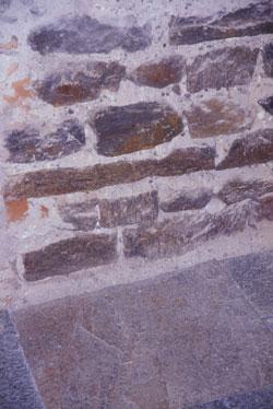 Muro e pavimento