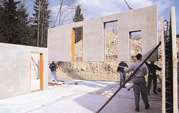 Seminterrato con elementi prefabbricati e coibentazione for Come stimare i materiali da costruzione per la costruzione di case