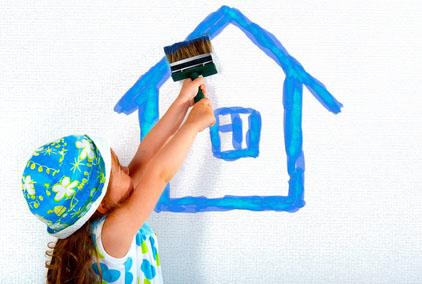 Le prime case che disegnano i bambini hanno tutte delle caratteristiche simili