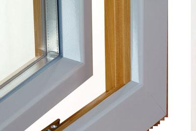 Finestre in legno-alluminio