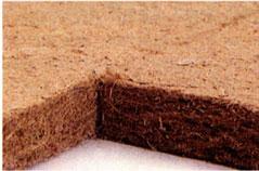 Pannello isolante contro il rumore da calpestio in fibra di legno